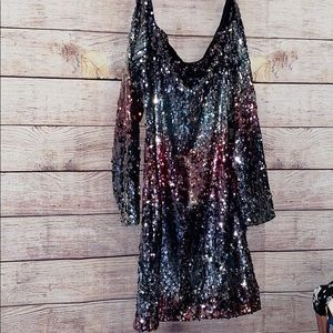 NWT FOREVER21 sequined after dark collection / L